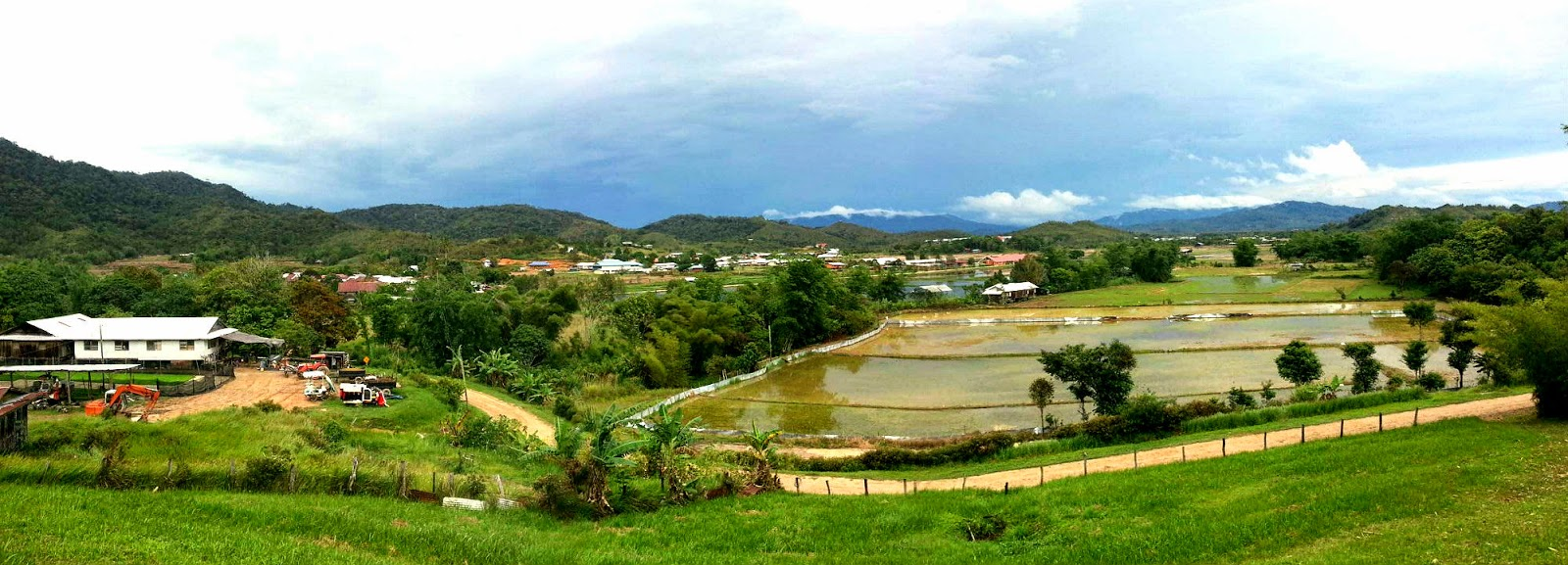 Postcards from Bario